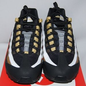 New Nike Air Max 95 OG AT2865 002 BLACKGOLD NWT
